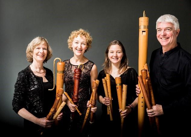 BRISK Recorder Quartet Amsterdam en organist Laurens de Man