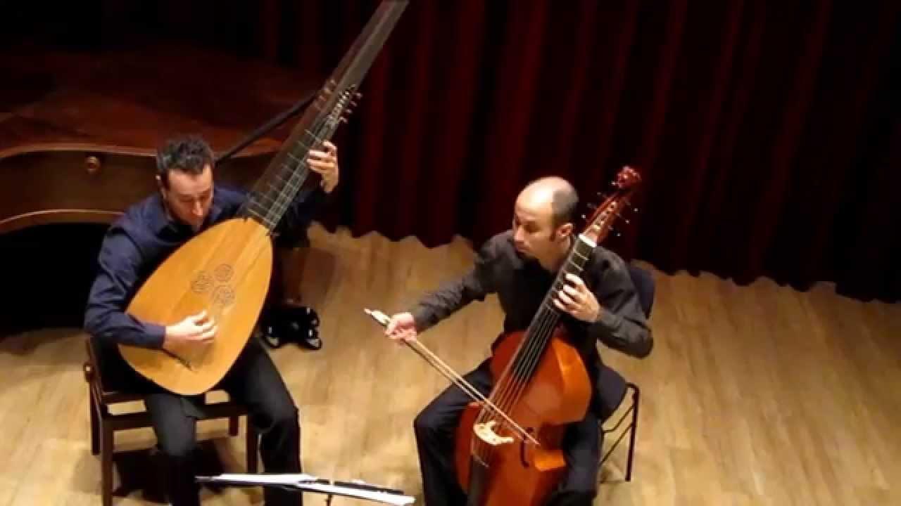 La Gracieuse - muziek van Marin Marais